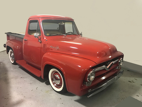 Collector Car Productions 1955 Ford F100 Pro Street Stepside