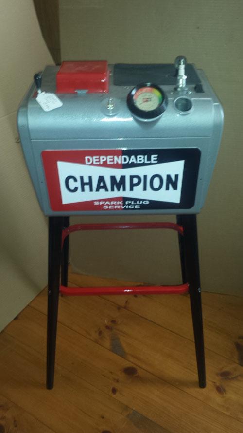 CHAMPION SPARK PLUG CLEANER FLOOR MODEL